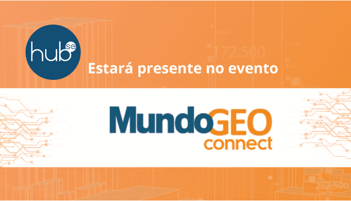 Hubse estará presente no evento online MundoGEO Connect