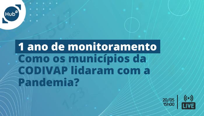 [Live] Monitoramento dos dados da Covid nos municípios da CODIVAP