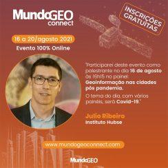 Hubse participa de evento online da MundoGEO Connect